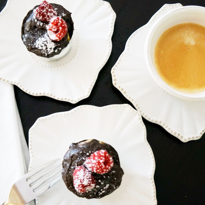 chocolate-raspberry-cupcakes-two-cupcakes-with-coffee